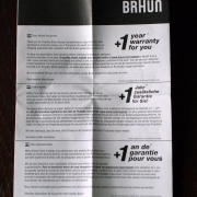 Braun CoolTec CT2s gli accessori